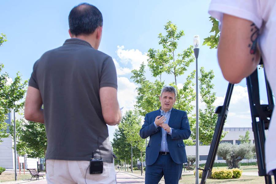 Manuel Gertrudix entrevistando a Jose Fernando García Rodenas sobre comunicación eficiente
