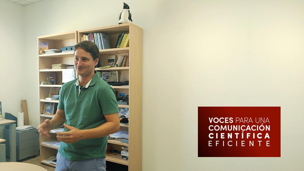 Entrevista realizada por Ciberimaginario para voces para una comunicación científica eficiente