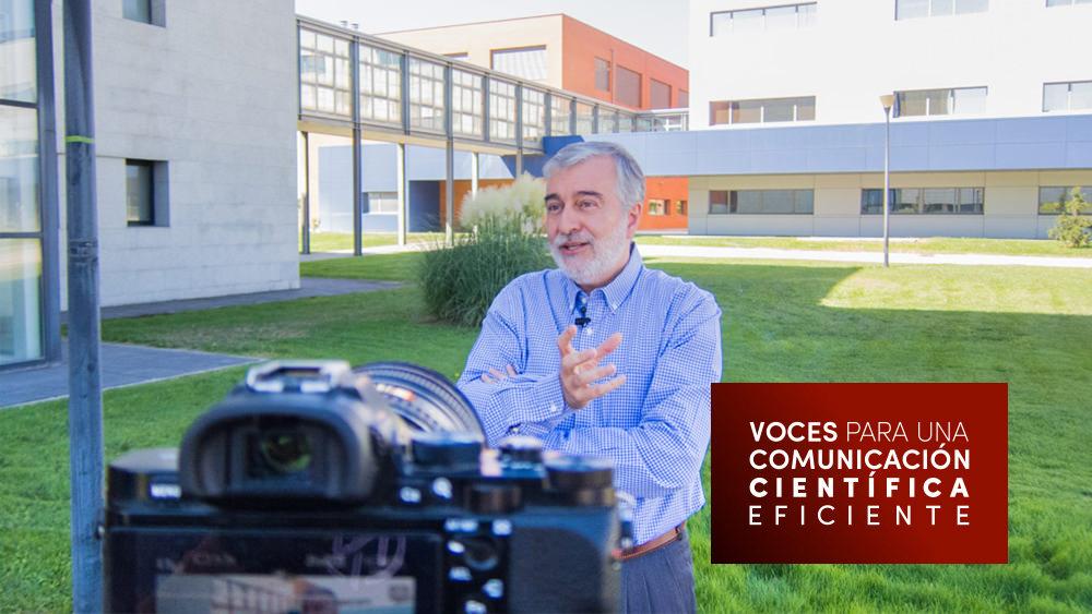Entrevista a Ángel Gil para voces para una comunicación científica eficiente