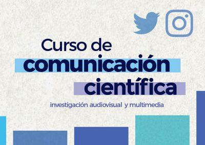 Curso de Comunicación Científica: investigaciones audiovisuales y multimedia