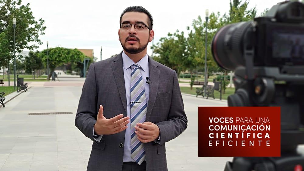 Imagen detrás de las cámaras durante la entrevista a Itzamá López