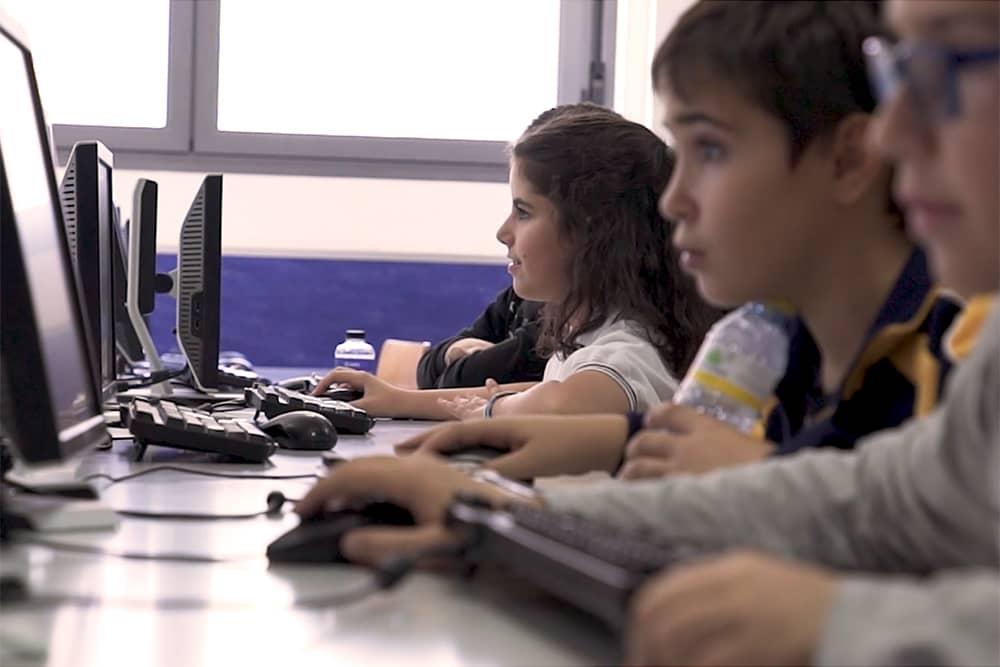 Foto del taller de Escuelas Comciencia