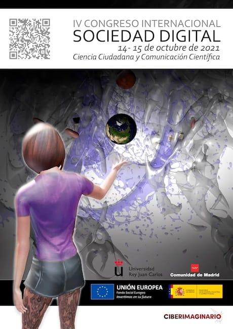 Cartel del IV Congreso Internacional Sociedad Digital